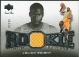2007/08 Upper Deck Sweet Shot Rookie Stitches #JW Julian Wright /99