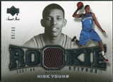 2007/08 Upper Deck Sweet Shot Rookie Stitches #NY Nick Young /99