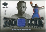 2007/08 Upper Deck Sweet Shot Rookie Stitches #RS Rodney Stuckey /99