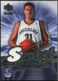 2007/08 Upper Deck Sweet Shot Sweet Stitches #DM Darko Milicic