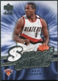2007/08 Upper Deck Sweet Shot Sweet Stitches #FJ Fred Jones