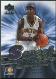 2007/08 Upper Deck Sweet Shot Sweet Stitches #JO Jermaine O'Neal