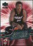 2007/08 Upper Deck Sweet Shot Sweet Stitches #SI Wayne Simien