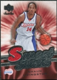 2007/08 Upper Deck Sweet Shot Sweet Stitches #SL Shaun Livingston