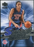 2007/08 Upper Deck Sweet Shot Sweet Stitches #TP Tayshaun Prince