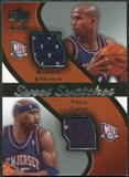 2007/08 Upper Deck Sweet Shot Sweet Swatches Dual #CJ Richard Jefferson/Vince Carter