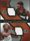 2007/08 Upper Deck Sweet Shot Sweet Swatches Dual #DT Ricky Davis/Sebastian Telfair