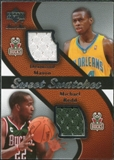 2007/08 Upper Deck Sweet Shot Sweet Swatches Dual #MR Desmond Mason Michael Redd