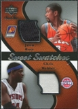 2007/08 Upper Deck Sweet Shot Sweet Swatches Dual #WR Jalen Rose/Chris Webber