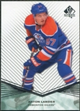 2011/12 Upper Deck SP Authentic Rookie Extended #R31 Anton Lander
