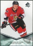 2011/12 Upper Deck SP Authentic Rookie Extended #R70 Stephane Da Costa