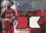 2004/05 Upper Deck SPx Winning Materials Autographs #SA Shareef Abdur-Rahim /100