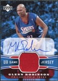 2004/05 Upper Deck UD Game Jerseys Autographs #GR Glenn Robinson /100