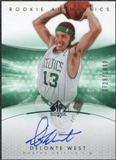 2004/05 Upper Deck SP Authentic #164 Delonte West Autograph /1499