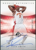 2004/05 Upper Deck SP Authentic #171 Josh Smith RC Autograph /1499