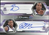 2004/05 Upper Deck SP Authentic Signatures Dual #RM Michael Redd Desmond Mason /25