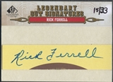 2011 SP Legendary Cuts #156 Rick Ferrell Legendary Signatures Auto #15/33