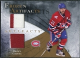 2010/11 Upper Deck Artifacts Frozen Artifacts #FABG Brian Gionta /150