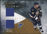 2010/11 Upper Deck Artifacts Frozen Artifacts #FADB David Backes /150