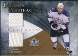 2010/11 Upper Deck Artifacts Frozen Artifacts #FAJJ Jack Johnson /150