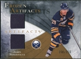 2010/11 Upper Deck Artifacts Frozen Artifacts #FAJP Jason Pominville /150