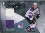 2010/11 Upper Deck Artifacts Frozen Artifacts Blue #FAAF Alexander Frolov /35
