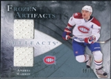 2010/11 Upper Deck Artifacts Frozen Artifacts Blue #FAAM Andrei Markov /35