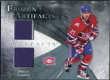 2010/11 Upper Deck Artifacts Frozen Artifacts Blue #FABG Brian Gionta /35