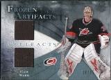 2010/11 Upper Deck Artifacts Frozen Artifacts Blue #FACW Cam Ward 16/35