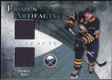 2010/11 Upper Deck Artifacts Frozen Artifacts Blue #FADR Derek Roy 7/35