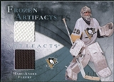 2010/11 Upper Deck Artifacts Frozen Artifacts Blue #FAMF Marc-Andre Fleury 19/35