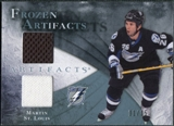 2010/11 Upper Deck Artifacts Frozen Artifacts Blue #FAMS Martin St. Louis 31/35