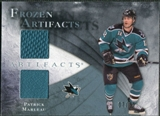 2010/11 Upper Deck Artifacts Frozen Artifacts Blue #FAPM Patrick Marleau /35