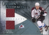 2010/11 Upper Deck Artifacts Frozen Artifacts Blue #FAPS Paul Stastny /35