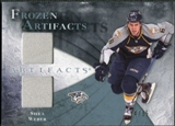 2010/11 Upper Deck Artifacts Frozen Artifacts Blue #FASW Shea Weber /35