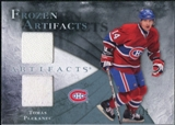 2010/11 Upper Deck Artifacts Frozen Artifacts Blue #FATP Tomas Plekanec 1/35