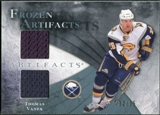 2010/11 Upper Deck Artifacts Frozen Artifacts Blue #FATV Thomas Vanek /35