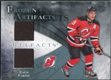 2010/11 Upper Deck Artifacts Frozen Artifacts Blue #FAZP Zach Parise 25/35