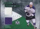2010/11 Upper Deck Artifacts Frozen Artifacts Emerald #FAJJ Jack Johnson 8/15