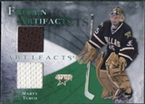2010/11 Upper Deck Artifacts Frozen Artifacts Emerald #FAMT Marty Turco 15/15