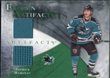 2010/11 Upper Deck Artifacts Frozen Artifacts Emerald #FAPM Patrick Marleau 13/15