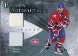 2010/11 Upper Deck Artifacts Frozen Artifacts Jersey Patch Blue #FABG Brian Gionta /50