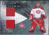 2010/11 Upper Deck Artifacts Frozen Artifacts Jersey Patch Blue #FACP Carey Price /50