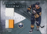 2010/11 Upper Deck Artifacts Frozen Artifacts Jersey Patch Blue #FADR Derek Roy /50