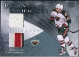 2010/11 Upper Deck Artifacts Frozen Artifacts Jersey Patch Blue #FAGL Guillaume Latendresse /50