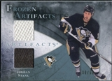 2010/11 Upper Deck Artifacts Frozen Artifacts Jersey Patch Blue #FAJO Jordan Staal /50