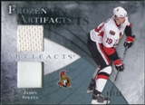 2010/11 Upper Deck Artifacts Frozen Artifacts Jersey Patch Blue #FAJS Jason Spezza /50