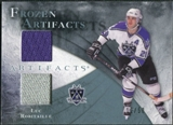2010/11 Upper Deck Artifacts Frozen Artifacts Jersey Patch Blue #FALR Luc Robitaille /50