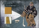 2010/11 Upper Deck Artifacts Frozen Artifacts Jersey Patch Blue #FAMT Marty Turco /50