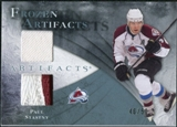 2010/11 Upper Deck Artifacts Frozen Artifacts Jersey Patch Blue #FAPS Paul Stastny /50